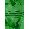 Swarovski Bead 5040 - 6mm, Fern Green (291), 10pcs