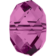Swarovski Bead 5040 - 8mm, Amethyst (204), 9pcs