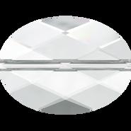 Swarovski Bead 5050 - 14x10mm, Crystal (001), 2pcs