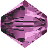 Swarovski Bead 5328 - 4mm, Amethyst (204), 48pcs