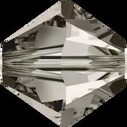 Swarovski Bead 5328 - 4mm, Crystal Satin (001 SAT), 48pcs