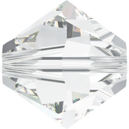 Swarovski Bead 5328 - 8mm, Crystal (001), 12pcs