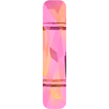 Swarovski Bead 5535 - 19x5mm, Crystal Astral Pink (001 API), 2pcs