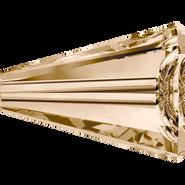 Swarovski Bead 5540 - 12mm, Crystal Golden Shadow (001 GSHA), 2pcs