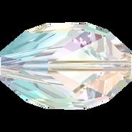 Swarovski Bead 5650 - 16x10mm, Crystal Aurore Boreale (001 AB), 2pcs