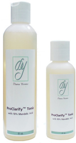 DianaYvonne 4% Mandelnc Toner in 4 or 8 oz bottles