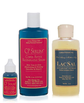 CP Serum and LacSal Serum 1 or 4 oz each