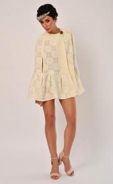 Luciana Cape (Thick Cotton Lace Cape)