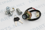 Ignition Switch - KZ900 KZ1000  -  Steering Lock, & Seat Lock Set