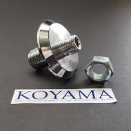 Kawasaki H2 750 H1 500 KH Triple Steering Stem Nuts