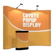 Coyote™ Pop Up Display