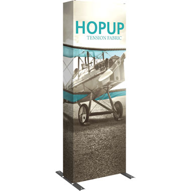 Hop Up™ 1×3 Pop Up Tower with Full Fitted Graphic