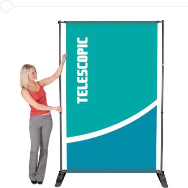 Pegasus™ Telescopic Banner Stand