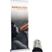 Barracuda™ Retractable Banner Stand