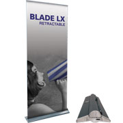 Blade LX™ Retractable Banner Stand