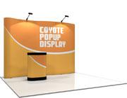 Coyote™ • 11′ Serpentine Pop Up Display