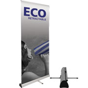 Eco™ Retractable Banner Stand