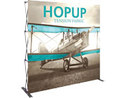 Hop Up™ • 3×3 Straight Pop Up Display