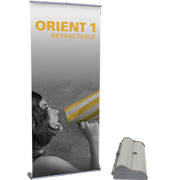 Orient™ Retractable Banner Stand
