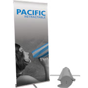 Pacific™ Retractable Banner Stand