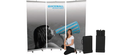 Quickwall™ Retractable Banner Stand