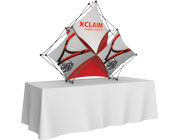 Xclaim™ Fabric Popup Display • 3 Quad Pyramid Kit 02