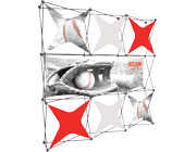 Xclaim™ Fabric Popup Display • 3×3 Kit 06