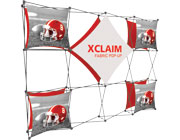 Xclaim™ Fabric Popup Display • 4×3 Kit 02