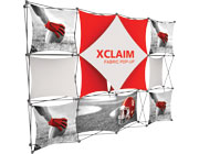 Xclaim™ Fabric Popup Display • 4×3 Kit 06
