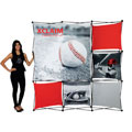 Xclaim™ Fabric Popup Displays