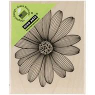 """Hero Arts Mounted Rubber Stamp 2""""X2.5"""", Etched Daisy, Scrapify, Australia"""