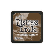 Ranger - Tim Holtz Distress Mini Ink Pad, 1in x 1in, Walnut Stain, Scrapify, Australia