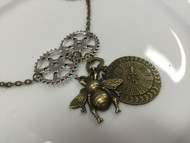 Metal Pieces - Steampunk Neckless, Scrapify, Australia