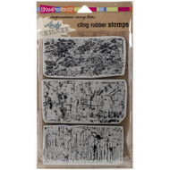Andy Skinner, Stampendous  Cling Stamps, Industrial 3pcs set, Scrapify, Australia