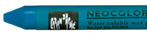 CARAN D'ACHE, NEOCOLOR II Water-Soluble Wax Pastel, Ice Blue, 185, Scrapify, Australia