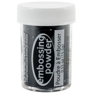 Stampendous, Detail Black, opaque,  embossing powder, 15.5g, Scrapify, Australia