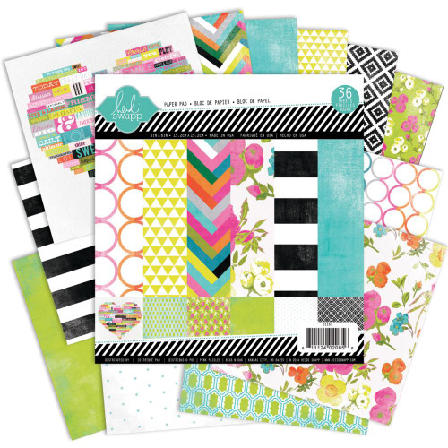 "Heidi Swapp Favorite Things, Paper Pad, 48 sheets 12""x12"", Scrapify, Australia"