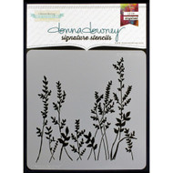 Donna Downey Signature Series Stencils - Grass DD090, Scrapify, Australia