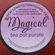 Lindy's Stamp Gang - Pigment Powders - Magicals - tea pot purple, Scrapify, Australia,