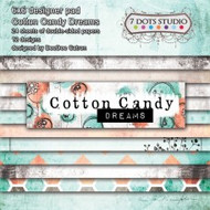 7 Dot Studio, Cotton Candy Dreams - scrapbook pad, 6 x 6, Scrapify, Australia