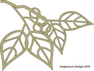 Imaginarium Designs, chipboard leaves and circles flourishes, 90mm x 118mm, Scrapify, Australia