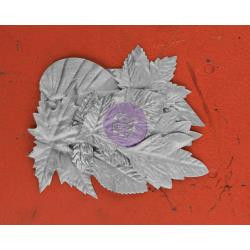 "Prima Marketing Flowers -Silver, Ivy Bay Paper Leaves 2"" To 4"" 12/Pkg Impulsive, Scrapify, Australia"
