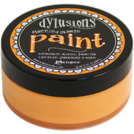 Dylusions Paint 2oz - Squeezed Orange, Scrapify, Australia