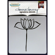 Donna Downey Signature Series Stencils - Lotus