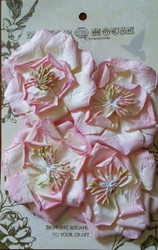 Manor House Creations, Flowers, Country Lane Pink,Pk 4,Scrapify, Australia