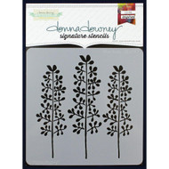 Donna Downey Signature Series Stencils - Lilac Buds