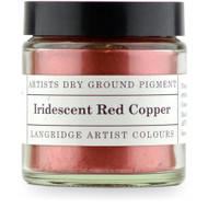 Langridge Dry Ground Pigment 120ml - Irridescent Red Copper, Scrapify, Australia