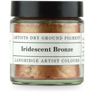Langridge Dry Ground Pigment 120ml - Irridescent Bronze, Scrapify, Australia
