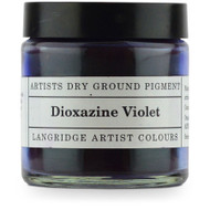 Langridge Dry Ground Pigment 120ml - Dioxazine Violet, Scrapify, Australia