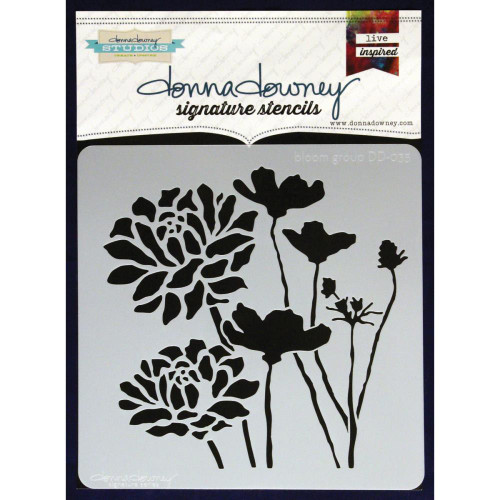 Donna Downey Signature Series Stencils - Bloom Group